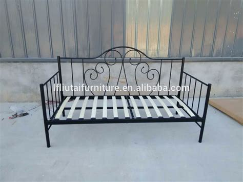 metal frame sofa bed wood slat metal frame sofa bed iron day bed view sofa bed