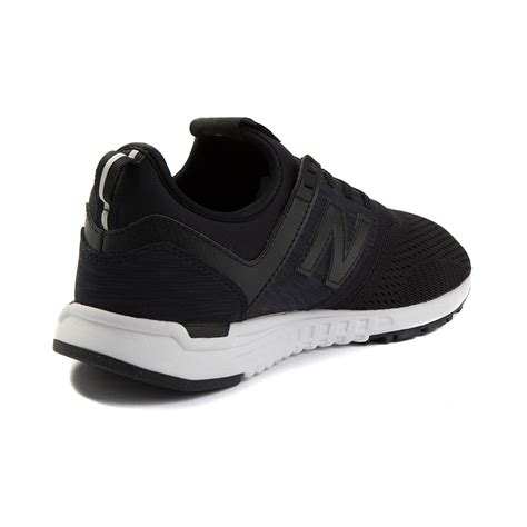 and black athletic shoes womens new balance 247 athletic shoe black 401655