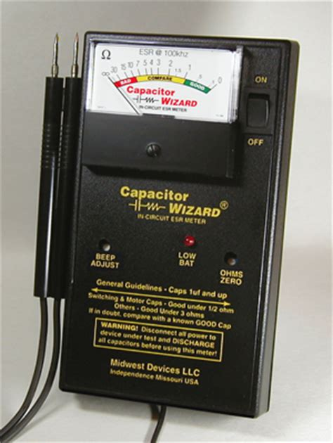 capacitor testing equipment capacitor wizard repair kit 28 images na 187 pc engine tg16 and cd addon wizard of wor