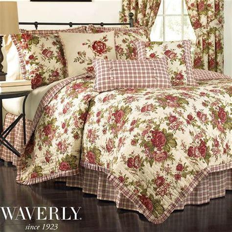 rose bedspreads and comforters norfolk rose floral quilt set by waverly