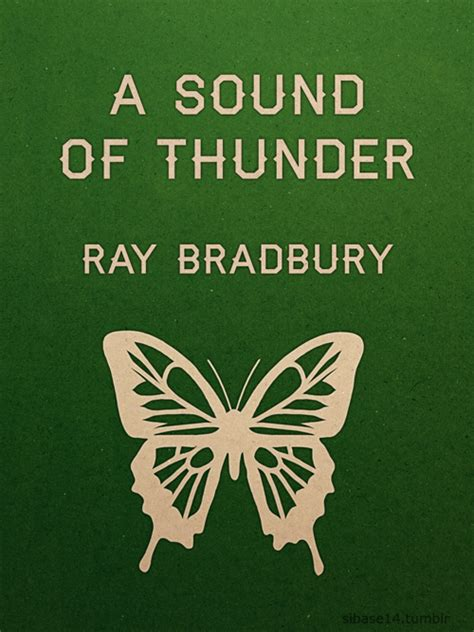 Pdf Sound Thunder Other Stories by A Sound Of Thunder On