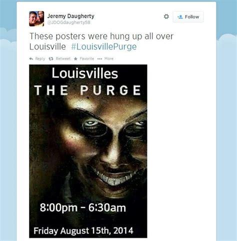 Purge Meme - the quot louisville purge quot hoax know your meme