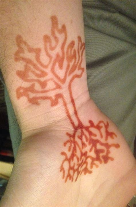 tree henna tattoos henna tree makedes