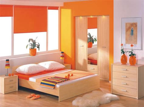 orange bedrooms orange bedroom ideas asian paints colour combination