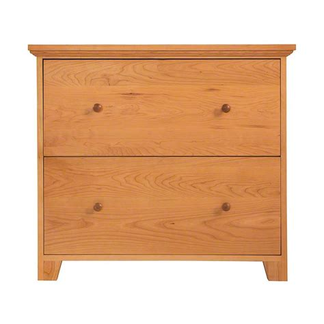 Lateral File Cabinet 2 Drawer by New Shaker 2 Drawer Lateral File Cabinet Vermont