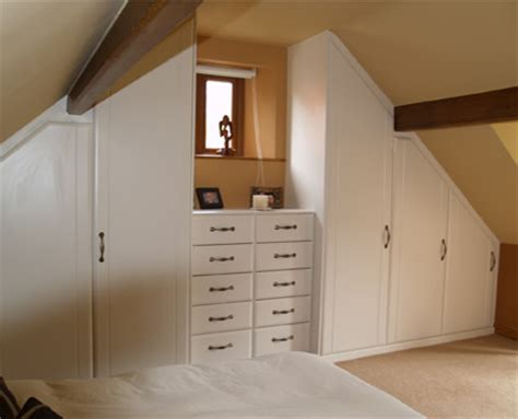 Fitted Wardrobes For Sloping Ceilings by Wardrobes For Sloping Ceilings Crown Bedrooms