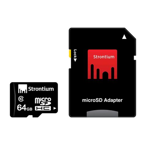best micro sdxc card strontium microsdxc card with adapter 64gb class 10