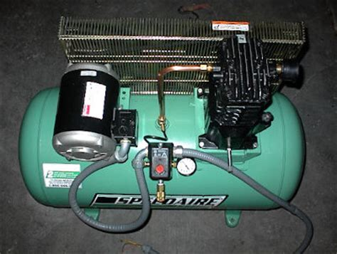 fs dayton 3hp 3p air compressor motor