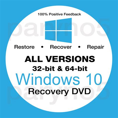 32bit 64bit Kaset Dvd Windows 10 All In One 32bit 64bit Selalu Ready windows 10 home 64 recovery install reinstall boot restore