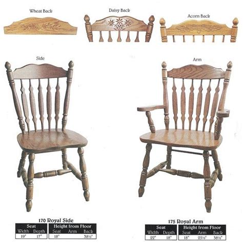 dining bench with back support this amish dining press back pattern royal chair furniture