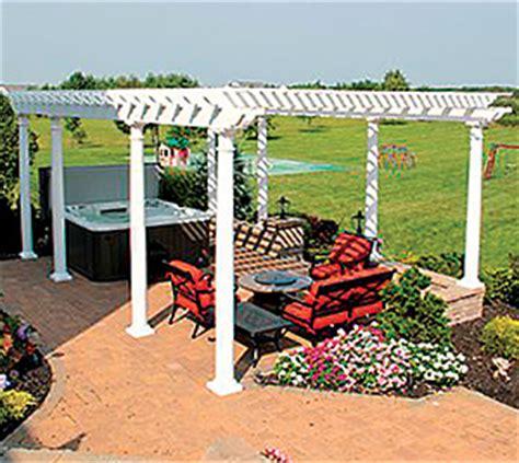 ready to assemble pergola pergolas by schiano fence installations in the