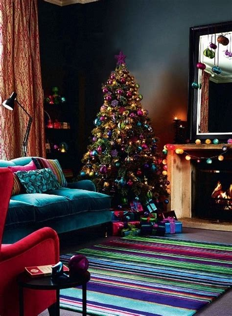 jewel tone home decor marvelous christmas decoration inspirations for your home