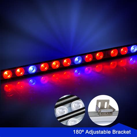 10pcs Lot 81w Waterproof Red Blue Led Grow Bar Light Strip Led Grow Light Strips