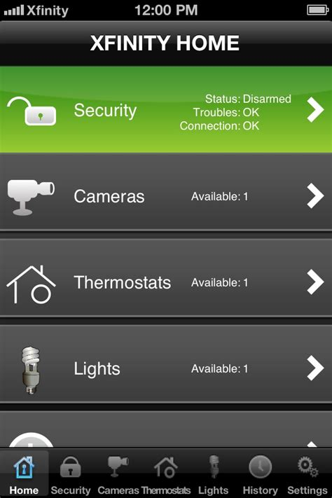 xfinity home security 1 15 mb home security mobile