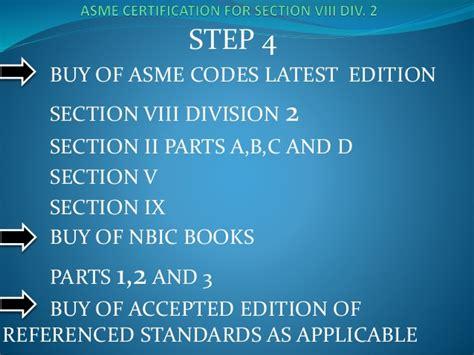 latest edition of asme section viii div 1 presentacion asme seccion viii division 2 2013