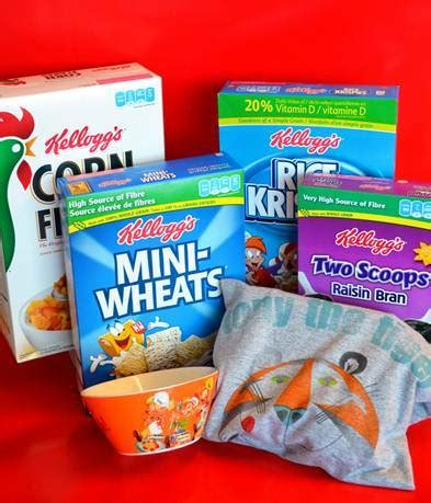 Cereal Giveaway - win kellogg s prize pack cerealandmilk shannon s view from here