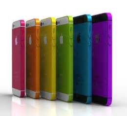 apple iphone colors low cost iphone to come in 5 different colours