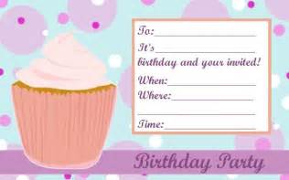 Cupcake Invitations Template by Cupcake Invitation Templates And Free Invitation