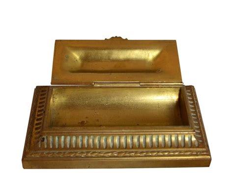Antique Bronze Desk L by Complete Antique Desk Set Made Of Gilt Bronze For Sale At