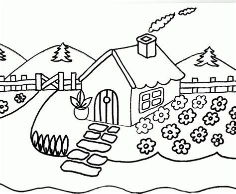 imagenes de paisajes para dibujar paisajes dibujos para colorear imagui