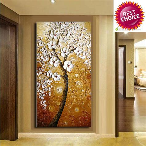 hand painted home decor hand painted modern home decor wall art picture brown