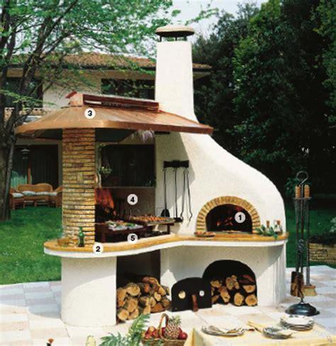 forno pizza giardino casa moderna roma italy caminetti da esterno per barbecue