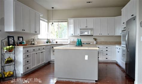 updating kitchen cabinets with paint hometalk diy painted kitchen cabinet update reveal