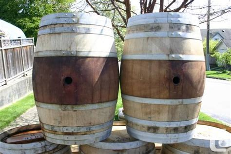 Wine Barrel Planters For Sale by Planters Made From Wine Barrels For Sale In New