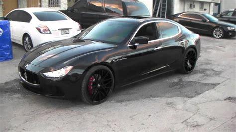 Maserati On 24s by Maserati Ghibli Review On 22 S Miami 22 Inch Forgiato