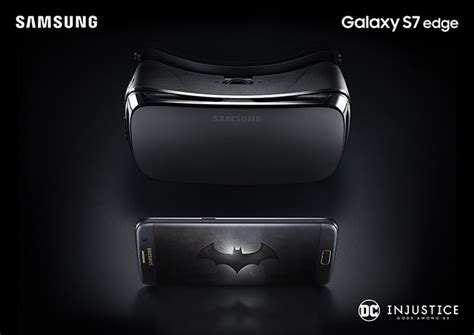 Garskin Galaxy S7 Edge S7 Batman Injustice Black Wood 3m Usa 2 Samsung Unveils Amazing Galaxy S7 Edge Injustice Edition