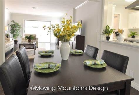 los angeles home staging nuys dining room moving