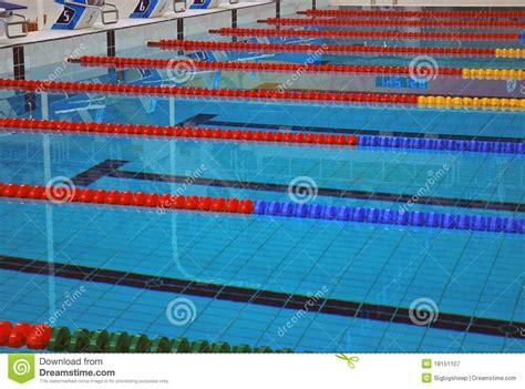 lane lines   swimming pool royalty  stock