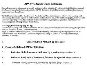 apatutoriallmc headings subheading apa
