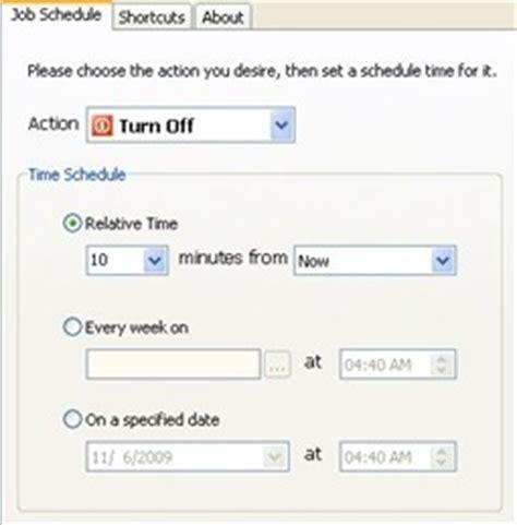 Auto Shutdown Windows 7 by Windows 7 Auto Shutdown Software
