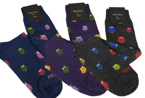 pattern for owl socks warm cotton knee high women s socks with owl pattern 3 pairs