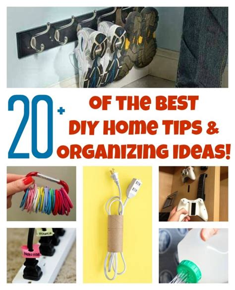 diy home organization 20 of the best diy home organizing hacks and tips