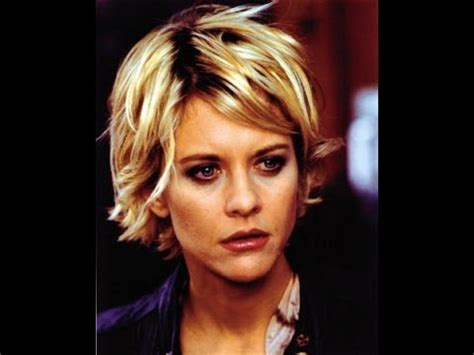 how do i style my hair like kelly ripa pixie haircut tutorial meg ryan youtube