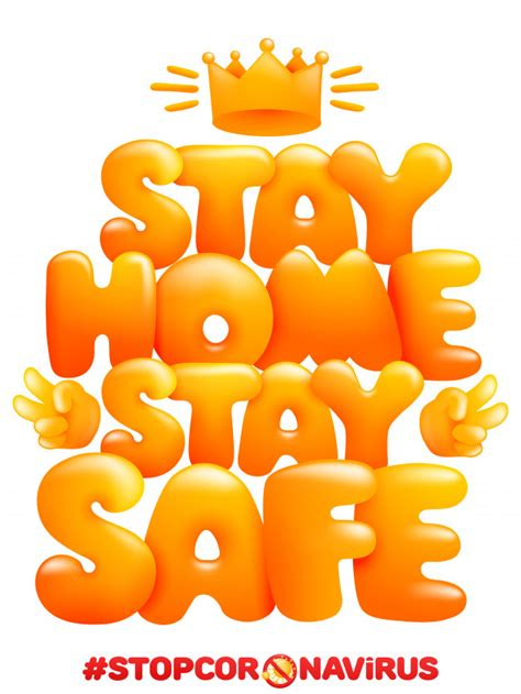 premium vector stay home stay safe home quarantine