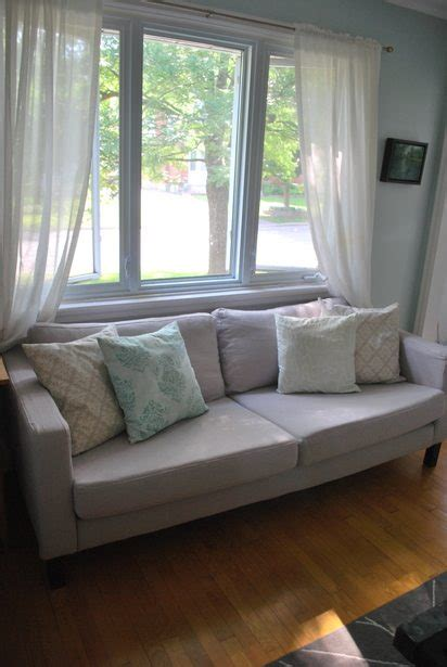 karlstad sofa review comfort review comfort works karlstad slipcover the sweetest digs