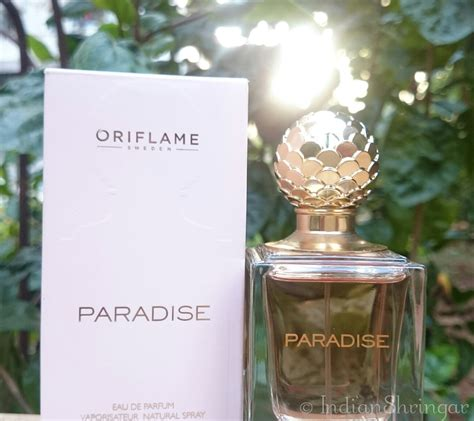 Parfum Oriflame Paradise paradise edp by oriflame spicy for summer nights indian shringar