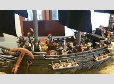 Black Pearl Megabloks Pirates of the Carribean ship review ... Lego Pirates 2017