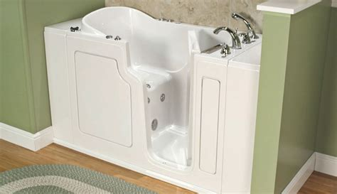 step in bathtubs caring for your walk in tub cleaning walk in tubs safe
