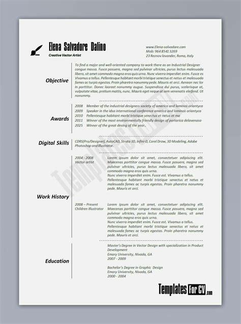 student resume examples graduates format templates