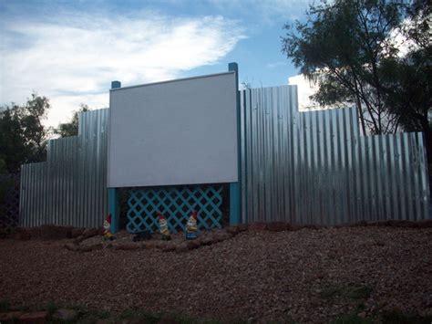 Backyard Drive In by Mick S Backyard Drive In Theater Retro Renovation