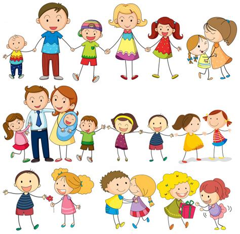 hombre de divertidos dibujos animados est 225 sudando dessin famille vecteurs et photos gratuites