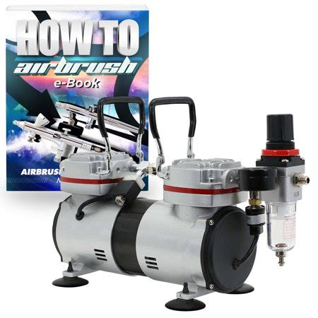 pointzero pro airbrush air compressor tankless piston 1 3 hp walmart