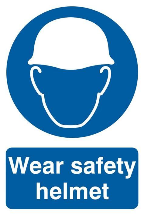 Safety Helm richardsons safety helmet sign