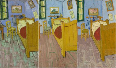 exhibit provides insight into bedroom of gogh