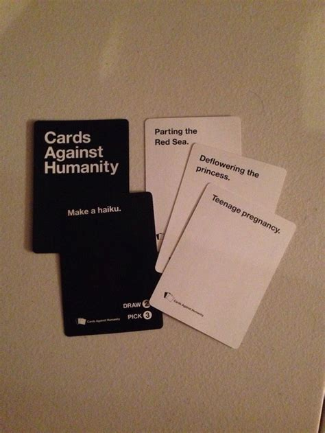 how to make cards against humanity best cards against humanity answers i am bored