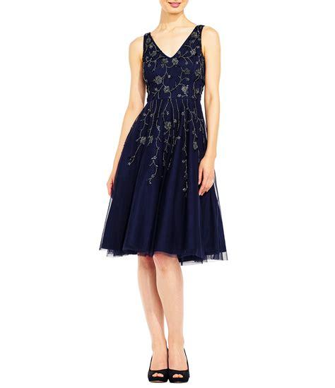 Midi Dress Valena Murah Limited papell v neck beaded midi dress dillards